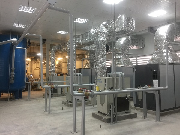 Lắp đặt biến tần yaskawa cho máy nén khí
